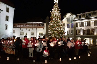Vigils in 25 Swiss towns for persecuted Christians