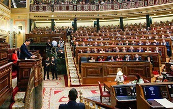 First ever coalition government in Spain