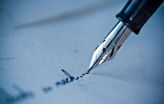 write pen