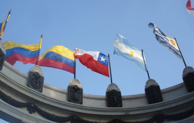 flags latin america