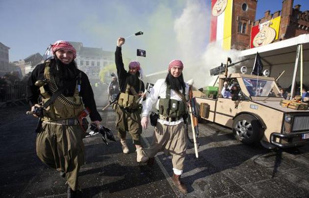 chariot jihadiste carnival