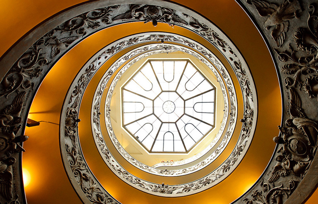 stairs vatican circle