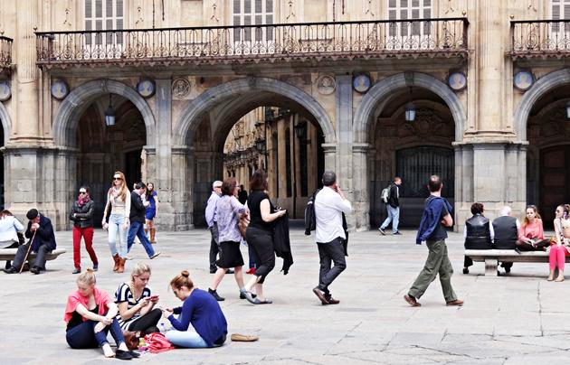 Salamanca plaza