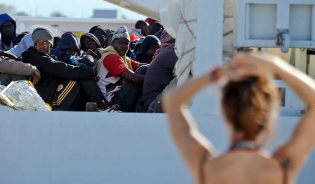 Port augusta migrants