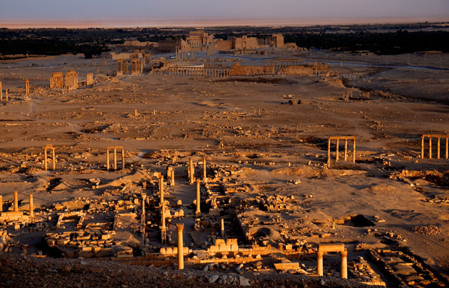 palmyra, archaeology