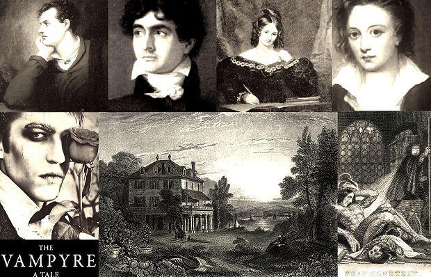 Frankenstein, Polidori, villa, frankenstein