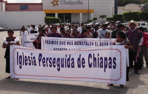 CHiapas, Christians, evangelicals