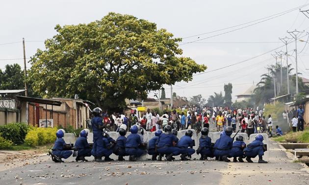 Bujumbura, Burundi, June