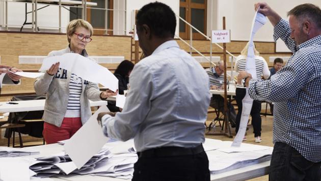 eleciont, denmark, votes