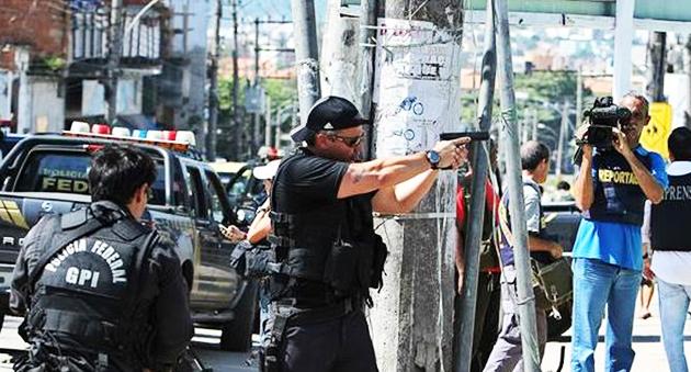 police, brazil, sect