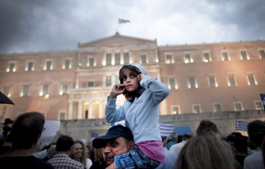 greece, demonstration, 2015