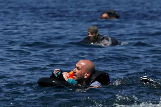 refugee, baby