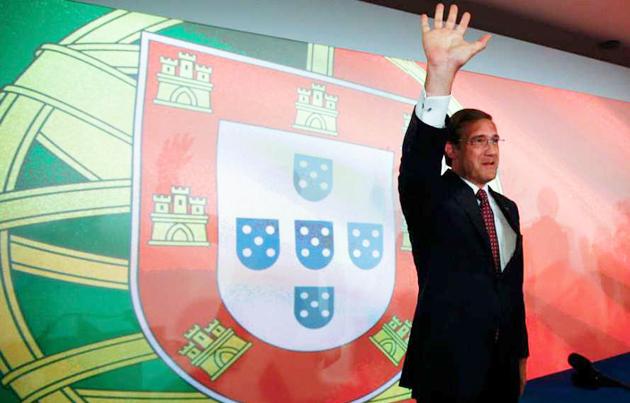Passos Coelho, portugal, 2015, victory