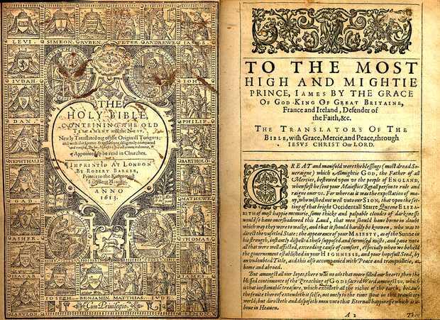 King James, Bible