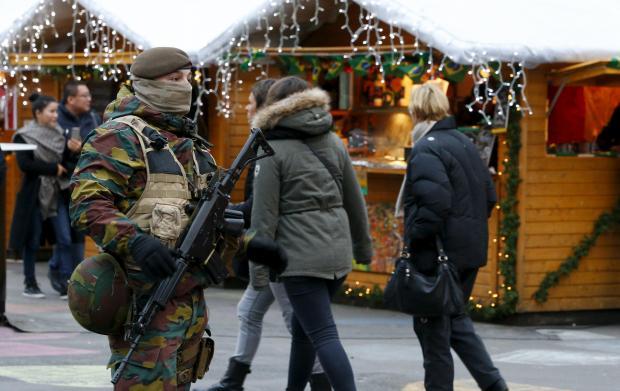 brussels, police, lockdown, christmas