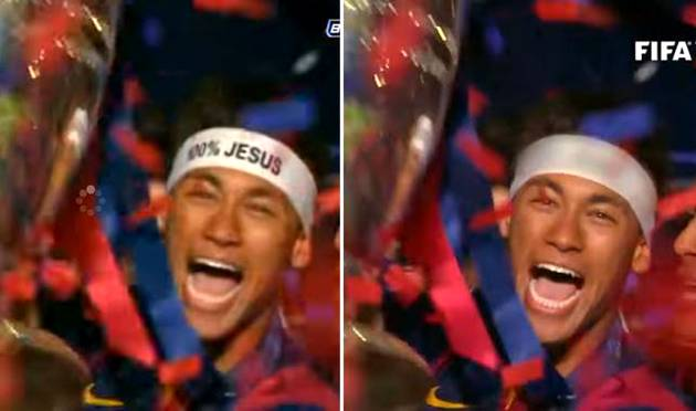 neymar, erased, edited video, fifa, 2016, ballon d
