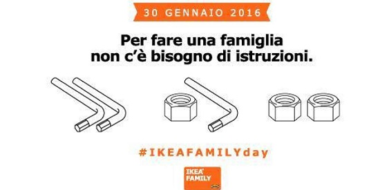 Ikea Italy No Instructions Needed To Build A Family