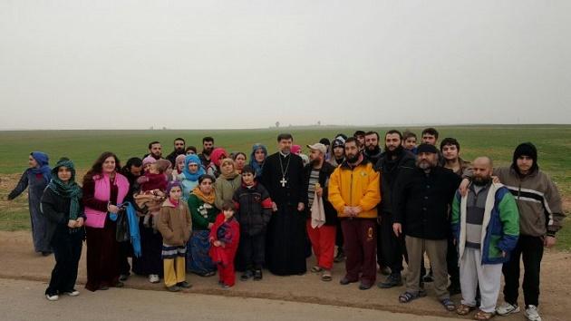 assyrian christians, freed, 43, syria