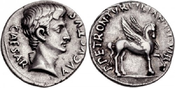 denarius, cash, caesar, roman empire