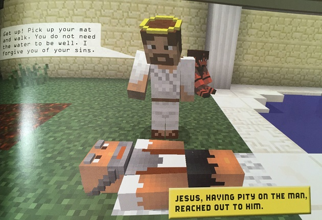 bible, minecraft, book,