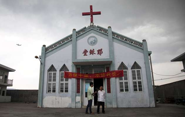 christians, churches, chinese,