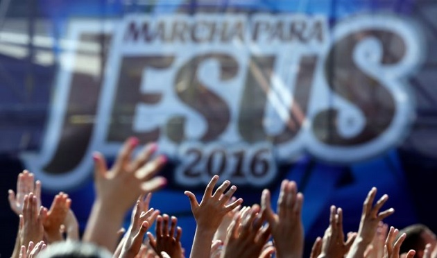 march for jesus, brazil, english