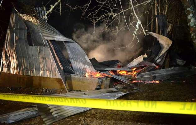 evangélicos Chile, queman iglesia