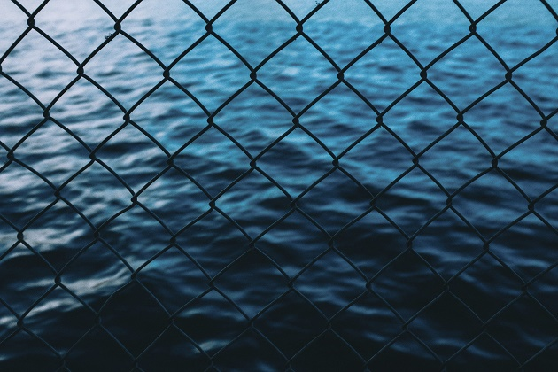 sea, net,