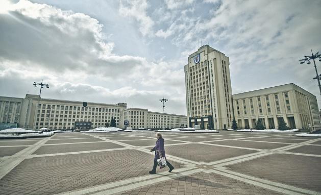 square, minsk, belarus