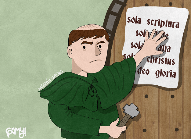 gamy, 95 theses