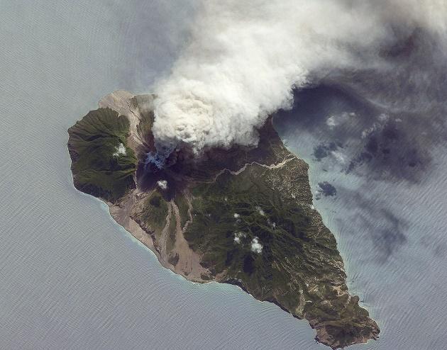montserrat, island, volcano