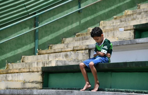 chapecoense, child, niño