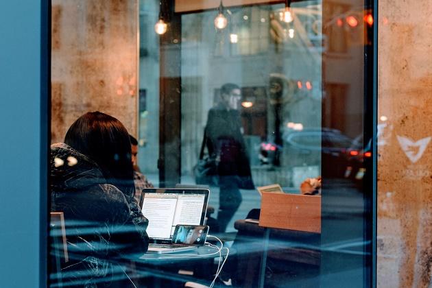 cafe, wireless