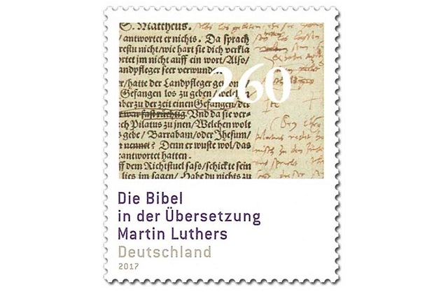 luther, stamp, germany