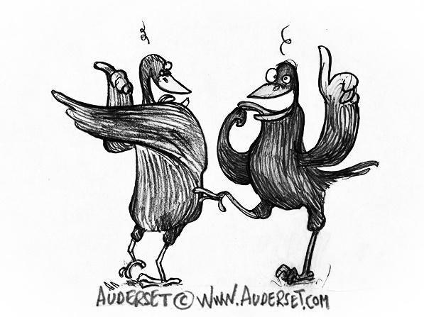 crow, comic