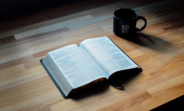 bible, cup