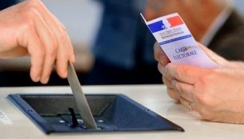 carte electorale, france