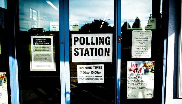 voters, polling station