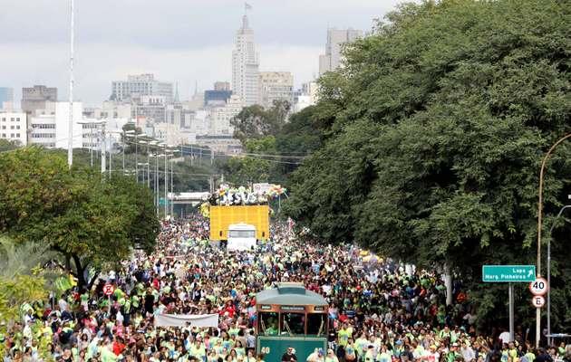 Marcha por Jesús, Sao Paulo