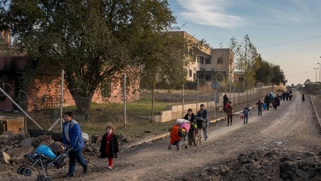 mosul, refugees