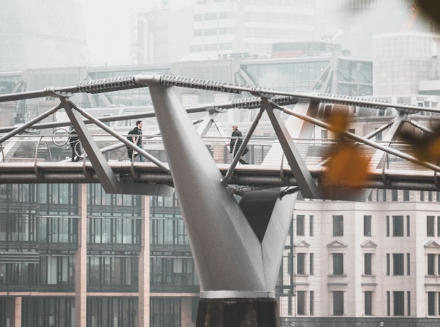 bridge, city