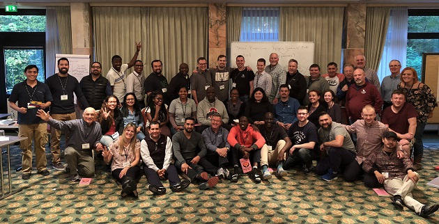 Young Life' leaders from 27 countries met in Frankfurt