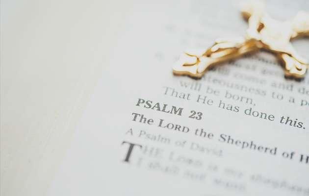biblia, crucifijo