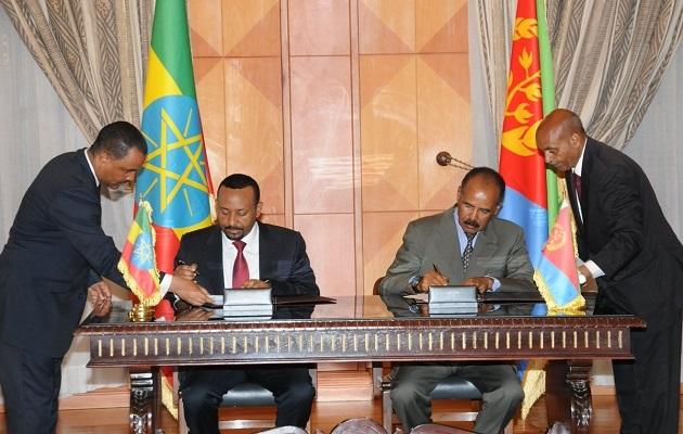 Historic Peace Agreement Between Ethiopia And Eritrea